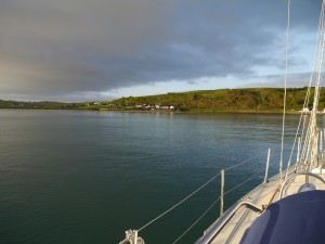 Anchorage in Brown's Bay, Northern Ireland