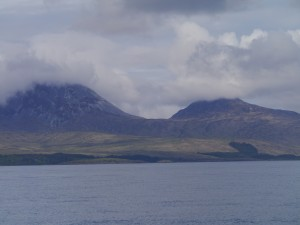 Past the Paps of Jura...