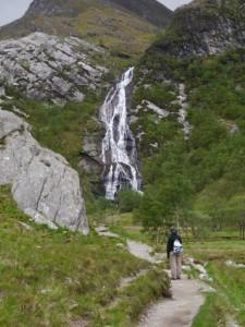 Waterfall in Glen Nevis