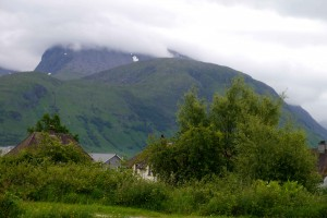 A different view of Ben Nevis