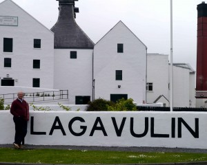 Lagavulin - Not so good on the rocks! (Still a favorite.)
