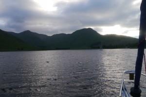Loch Corrie - Anchored under the Morvern Hills
