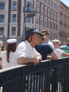 Watching boats in Nyhavn