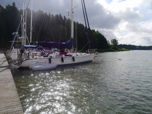Stern to version of Bow-to mooring!