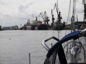 Gdansk - the massive Ship Yard