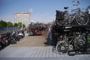 Multi-story bike park