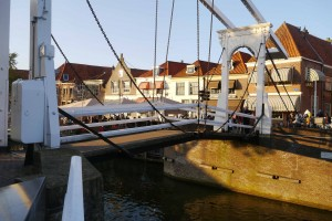 Cute little bridge in Enkhuizen