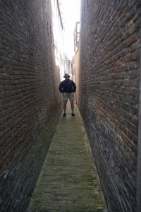 ? Narrowest street so far!