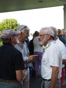 David, Rob and Charles