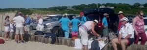 Menemsha Beach Gathering
