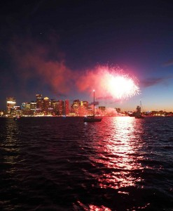 Boston Fireworks