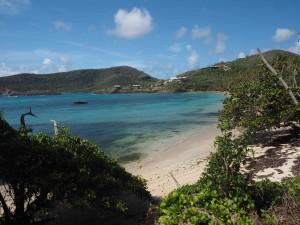 An Atlantic-side beach