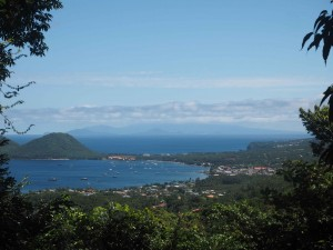 Prince Rupert Bay - Guadeloupe and Isles des Saints in the background