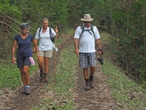 Walking around the North End of Carriacou with Steve and Carol
